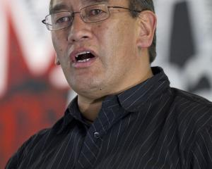 Hone Harawira. Photo NZPA