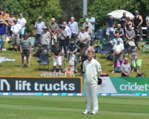 In a tribute to former South African president Nelson Mandela, New Zealand cricketer Corey...