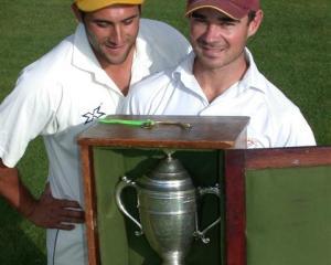 In the tradition of the Hawke Cup, when the opposing team is not allowed to see the trophy unless...
