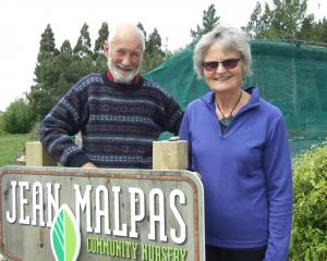 Inland Otago Conservation Award winners Neill and Barb Simpson, of Kelvin Heights, at the Jean...