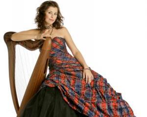 International Scottish singing and harp  star Katie Targett-Adams, of Hong Kong, will give an...