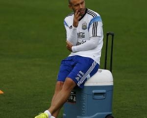 Javier Mascherano.Photo by Reuters