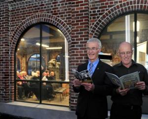 John Barsby (left) and Allan Kynaston  with their books which were launched during the Southern...