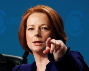 Julia Gillard. Photo Reuters