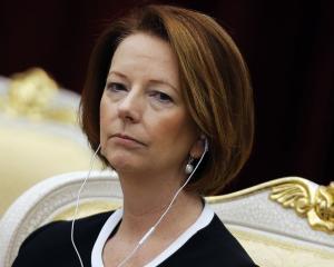 Julia Gillard. Photo Reuters