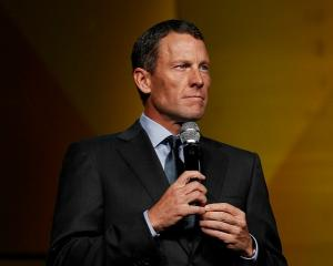 Lance Armstrong makes an appearance his cancer-fighting charity LIVESTRONG's 15th anniversary...