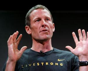 Lance Armstrong. Photo Getty