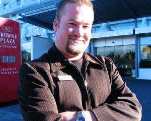 Les Clefs d'Or concierge Nathan Wise (30) who headed to Canada on Friday for the organisation's...