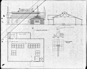 Logan Park Aquarium plans. Image supplied.