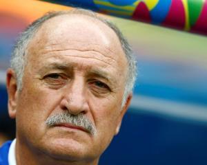 Luiz Felipe Scolari. Photo Reuters