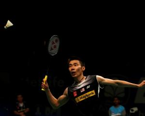 Malaysia's Lee Chong Wei in action during the Indonesia Open in Jakarta last month. REUTERS...