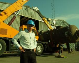 Managing director Richard Ellis outside the oil and gas-servicing company Fitzroy Engineering....