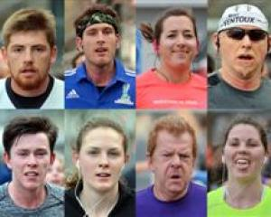 Marathon competitors in action. Photos by Gerard O'Brien. Click to enlarge