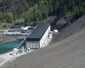 Meridian Energy's Benmore power house in late 2008 when it was undergoing a $67 million...