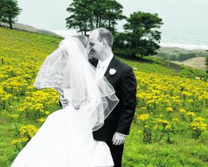 Michaela Hajartstram andy Andy Connor, who were married in February. MOIRA CLARK, M.PHOTOG, NZIPP...