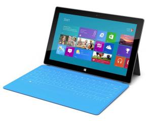 Microsoft's Surface tablet, which is designed to compete with Apple's iPad, was unveiled today....