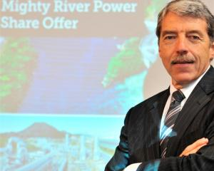 Mighty River Power CEO Doug Heffernan. Photo by Linda Robertson.