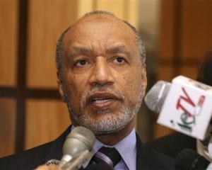 Mohamed bin Hammam. AP photo