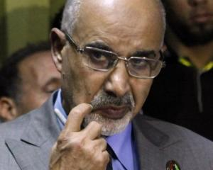 Mohammed Magarief, leader of Libya's ruling national congress. Photo Reuters