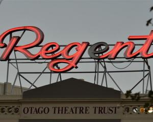 More money is being sought for the Regent Theatre. Photo by Peter McIntosh.