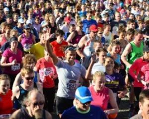 More than 2500 people took part in the Cadbury-sponsored Dunedin Marathon, half-marathon,...