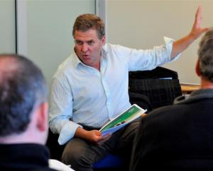 MyFarm director Andrew Watters talks to southern investors about the Pastoral Dairy Investment...