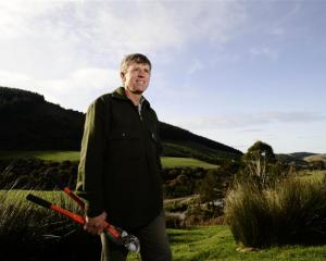 Neil Cullen has had a lifelong interest in planting trees. Photo by Gregor Richardson.