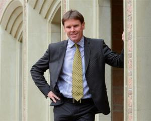 Neil Garry will take up  his role as John McGlashan College's new principal  in January next year...