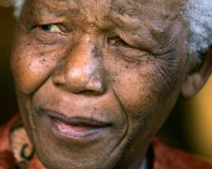 Nelson Mandela. Photo by Reuters.