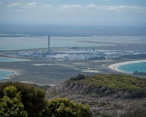 New Zealand Aluminium Smelters' Tiwai Point plant near Bluff.
