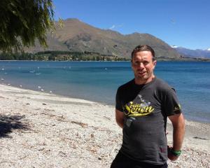 New Zealand paratriathlete Nick Ruane will compete in the Lake Wanaka Half triathlon today. Photo...