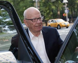 News Corp chief executive and chairman Rupert Murdoch. Photo by Reuters.