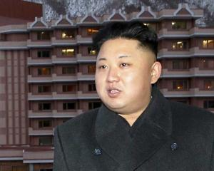 North Korean leader Kim Jong Un. Photo Reuters