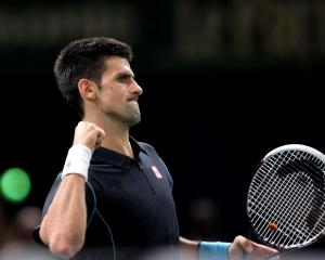 Novak Djokovic. Photo Reuters