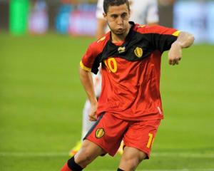 On the move . . . Eden Hazard.