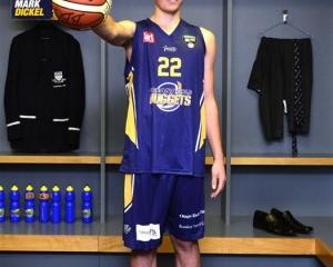 Otago Boys' High School pupil Sam Timmins has been named in the Otago Nuggets squad. Photo by...