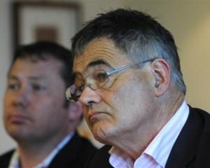 Otago Chamber of Commerce chief executive John Christie and Dunedin Mayor Dave Cull. Photos by...