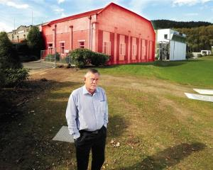 Otago Cricket Association chief executive Ross Dykes stands outside the former Dunedin Art...