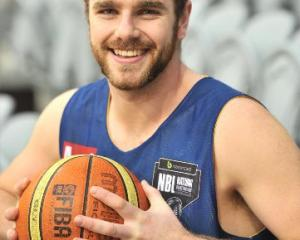 Otago Nuggets forward Sam King is shining on court after losing 26kg. Photo by Linda Robertson.