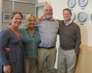 Part of the NHNZ family . . . New owner of NHNZ, Australian businessman David Haslingden (right),...