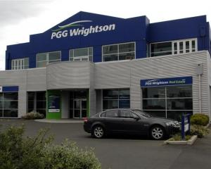 PGG Wrightson building on Vogel Street. Photo by Linda Robertson.
