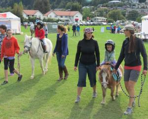 Pony rides, as well as rides in a police car and a fire engine proved popular.