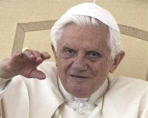 Pope Benedict XVI. Photo by AP.