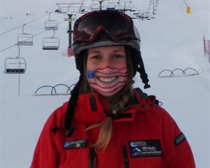 Remarkables ski instructor Courtney Blann, originally from California. Photo by Ben Kien/The...