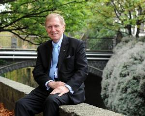 Retired Australian High Court judge Michael Kirby, who is visiting the University of Otago. Photo...