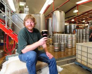 Richard Emerson in his award-winning Emerson Brewing Company premises. Photo by Craig Baxter.