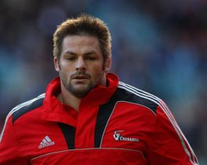 Richie McCaw will start against the Rebels. (Photo by Cameron Spencer/Getty Images)