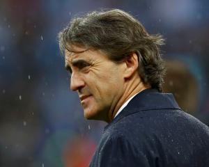 Roberto Mancini. REUTERS/Darren Staples