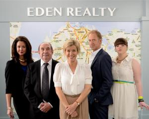 Robyn Malcolm (centre), pictured  with (from left) Theresa Healey, Roy Billing, Adam Gardiner and...