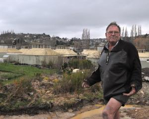 Rodney Hogg, vendor of the former Kenmure Intermediate buildings for sale.